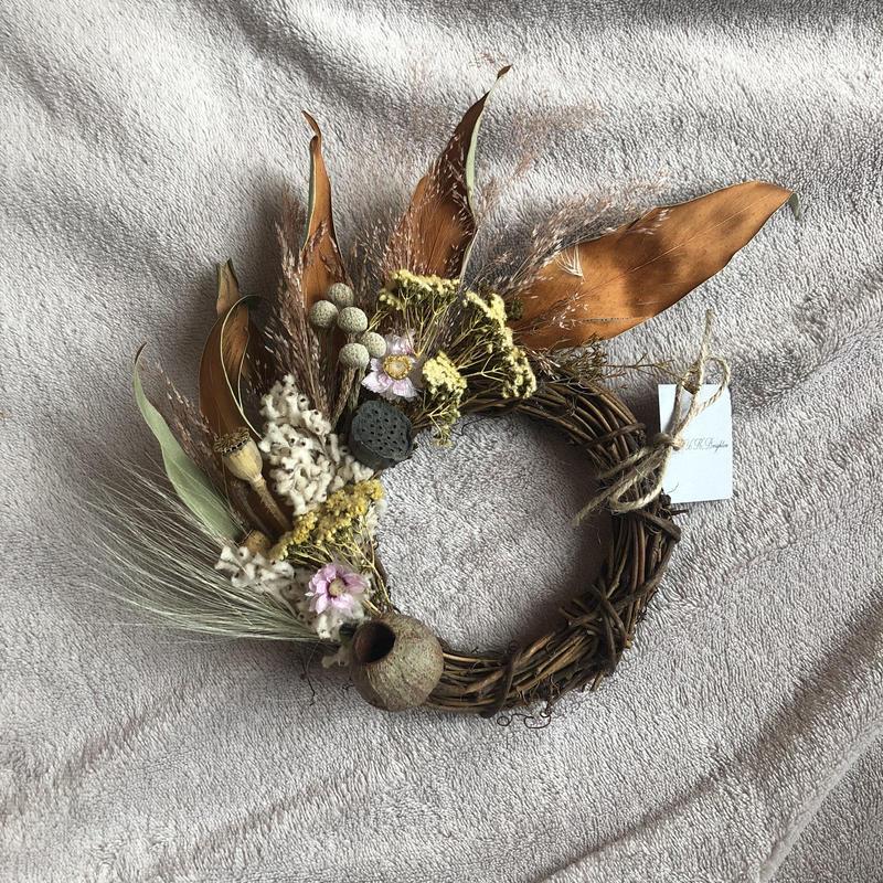 happy  half wreath