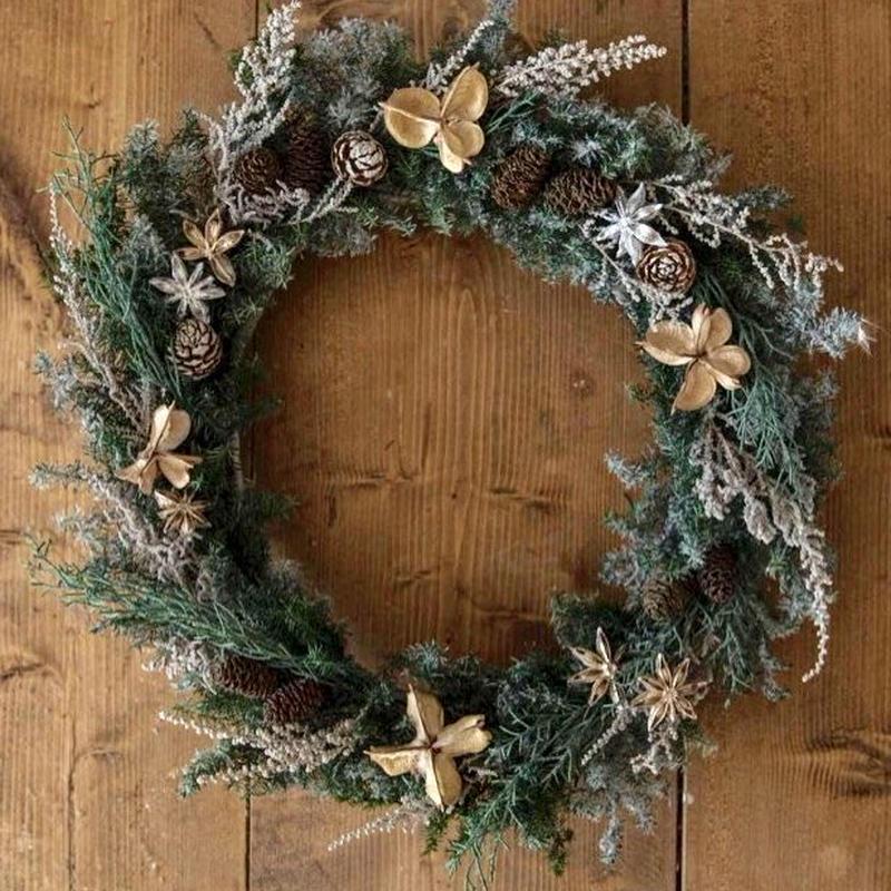 Forest  snow wreath