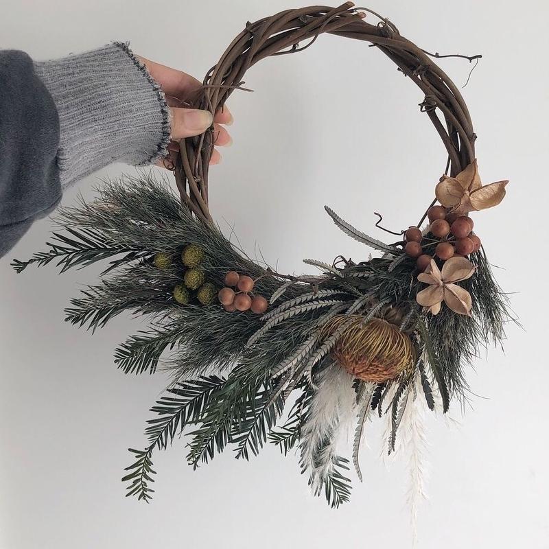 ドリアンドラhalf wreath brown