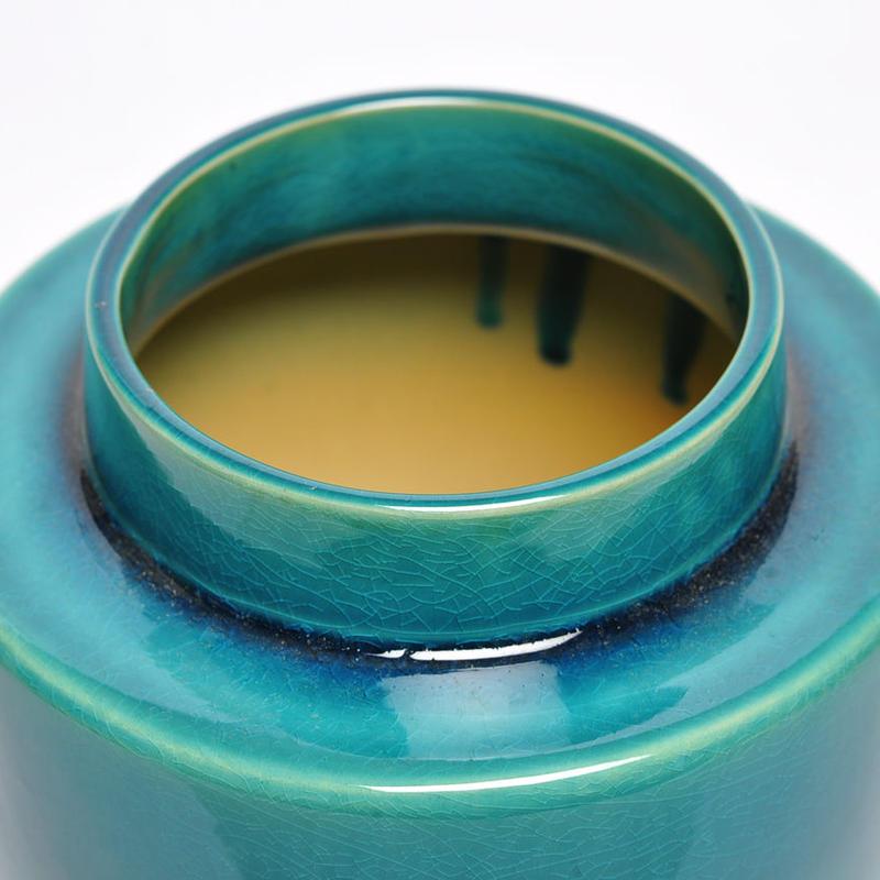 Vase Tube Half Bas Tilleul