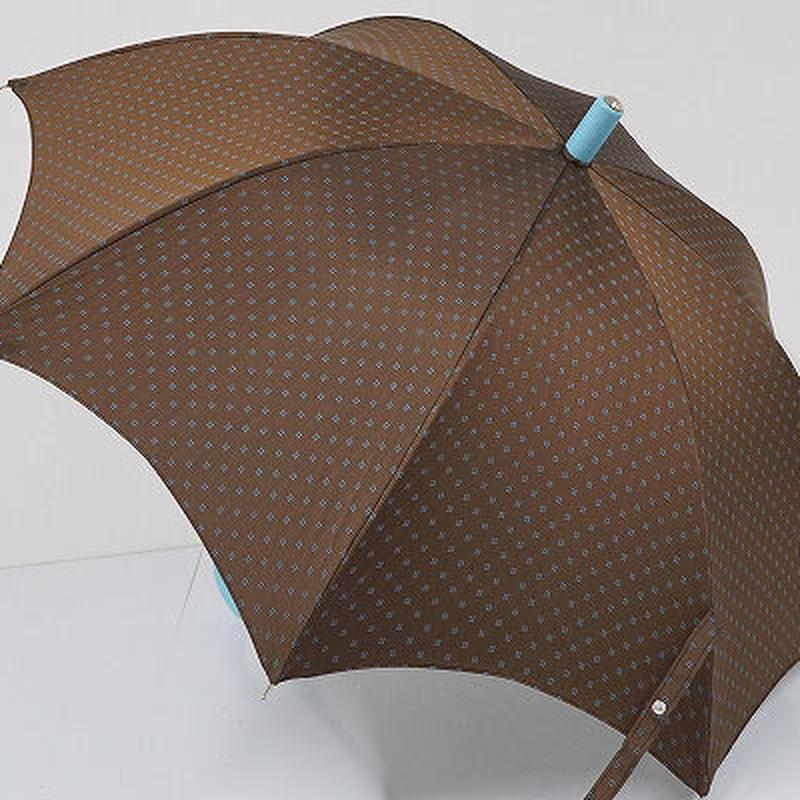 S0831 Maglia Francesco マリアフランチェスコ 傘 USED超美品 フラワードット 52cm イタリア製 中古 ブランド