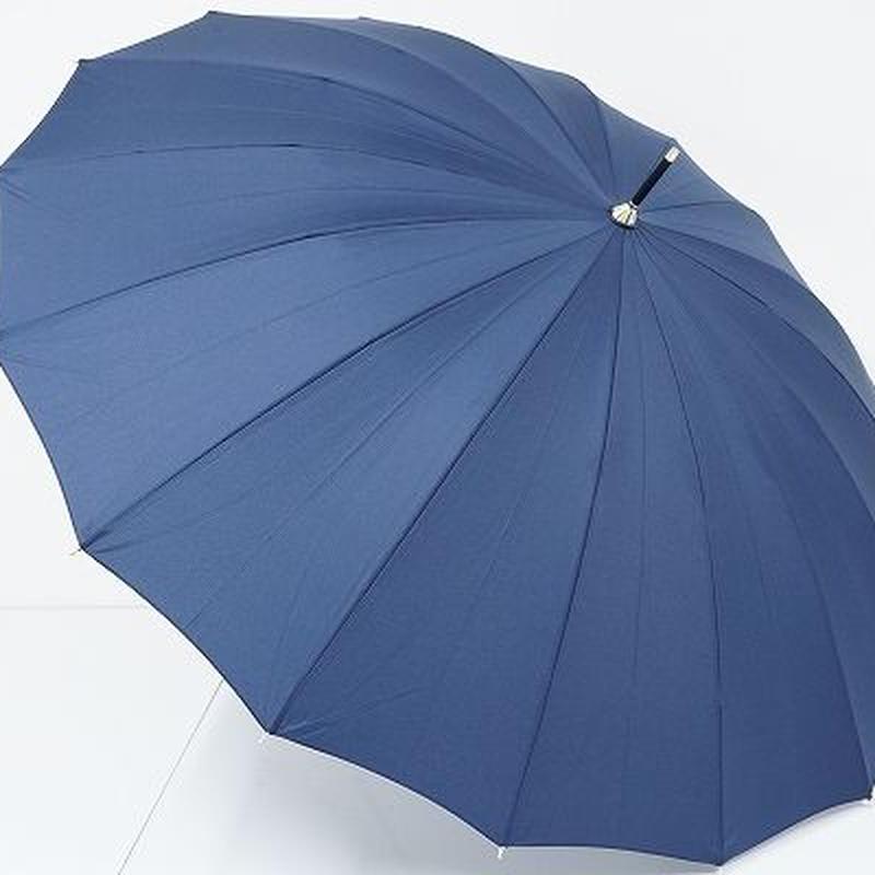 B0808 w.p.c ワールドパーティー 16本骨傘 USED超美品 紺 55㎝ 中古ブランド