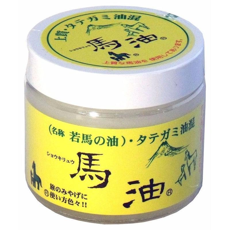 ショウキリュウ 馬油 若馬の油 80ml Made in Japan