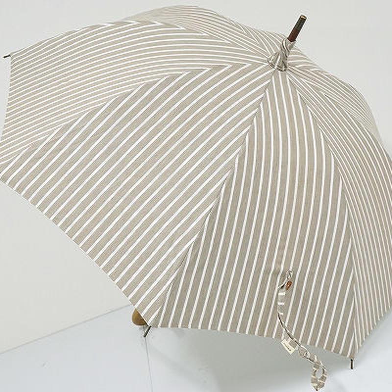 A8578 collex コレックス 晴雨兼用日傘 USED極美品 ストライプ UV 47cm  中古 ブランド