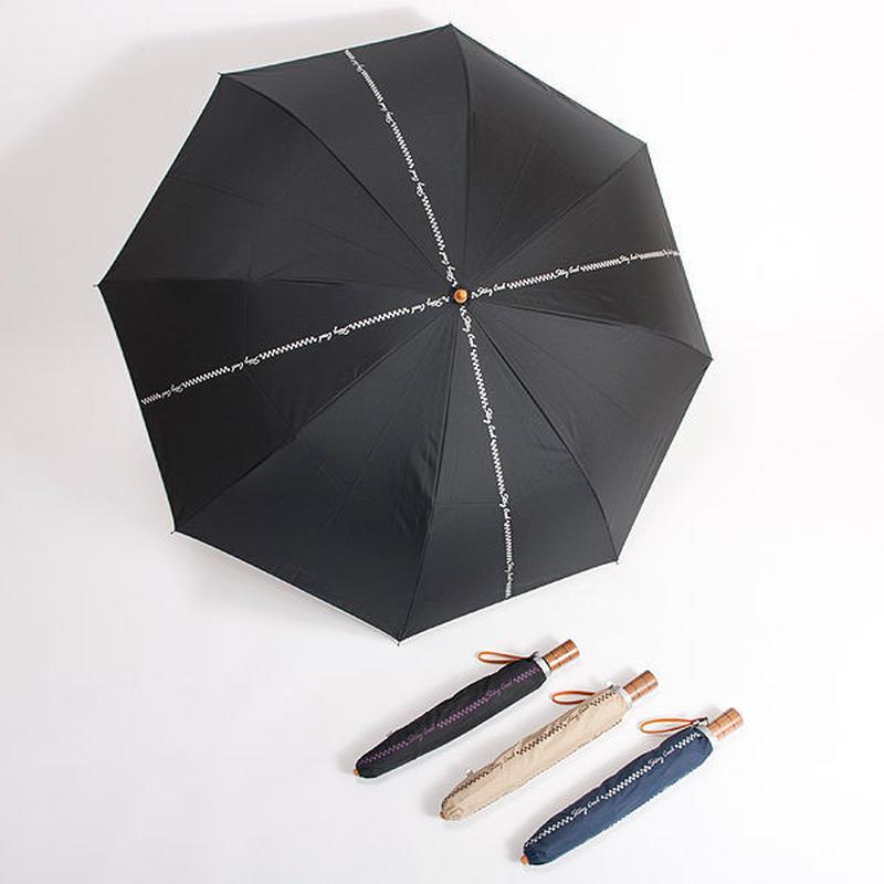 -12℃清涼「男の日傘」晴雨兼用傘 55cm/折りたたみ傘 [OST126 BS/BPU/BEBR/NS]