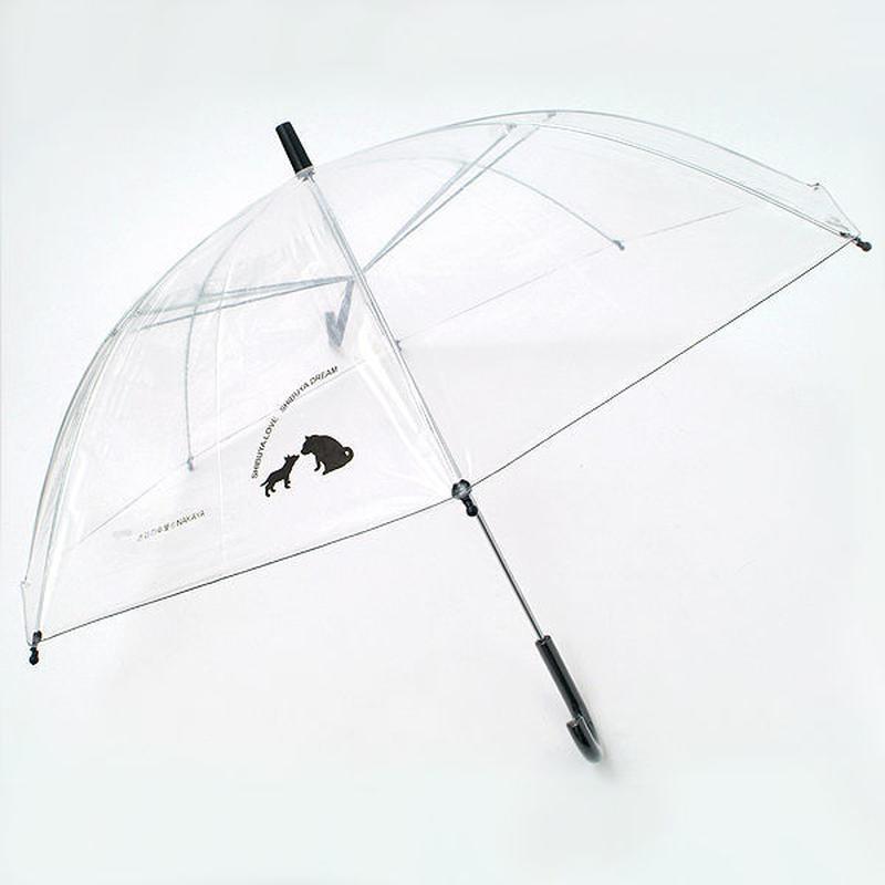 渋谷まちけんビニール傘【LOVE&DREAM】 57cm/長傘 [NM57B]