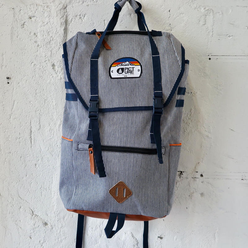 PICTURE JERIKO BACKPACK SOAVY STRIPES
