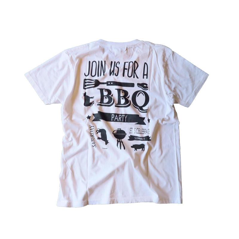 ah-t×JARLD VネックTシャツ BBQ