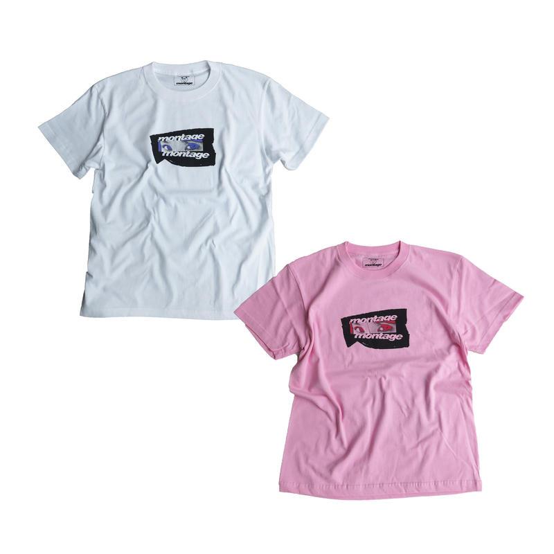 "【C】montage x aya kawasaki collaboration T-shirts ""REALIZE ME TEE"""