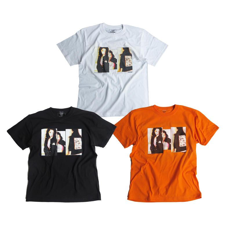 "【D】montage x aya kawasaki collaboration T-shirts ""THE VIVID TEE"""