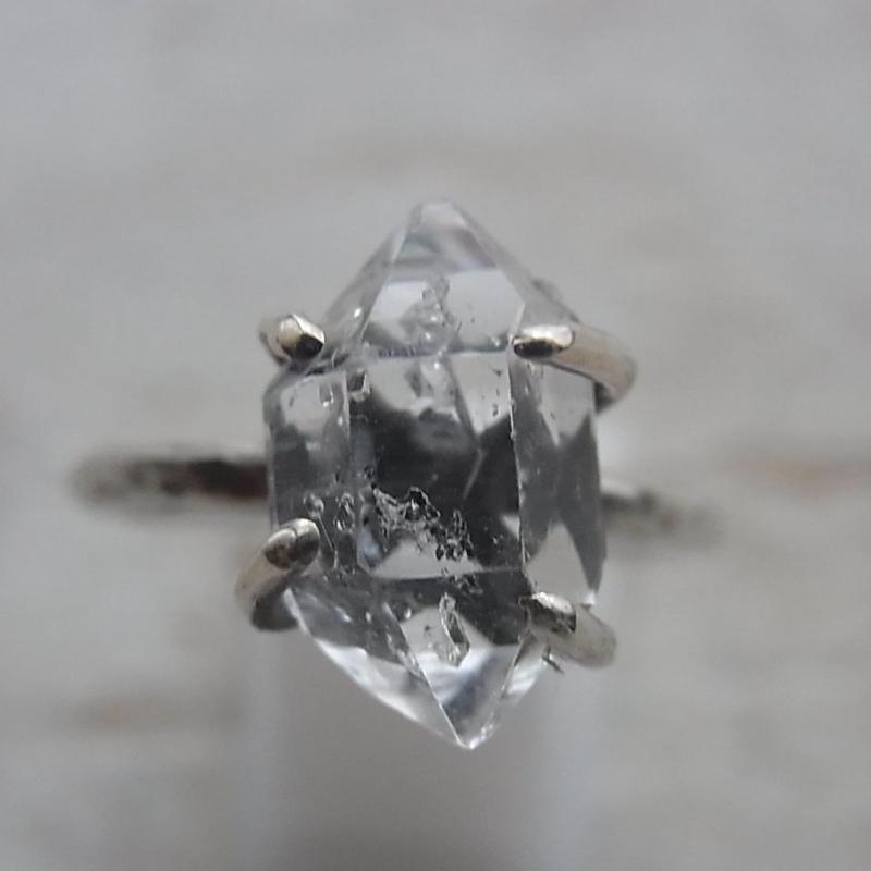ハーキマーダイヤモンド Ring No,2