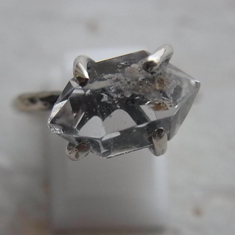 ハーキマーダイヤモンド Ring No,1