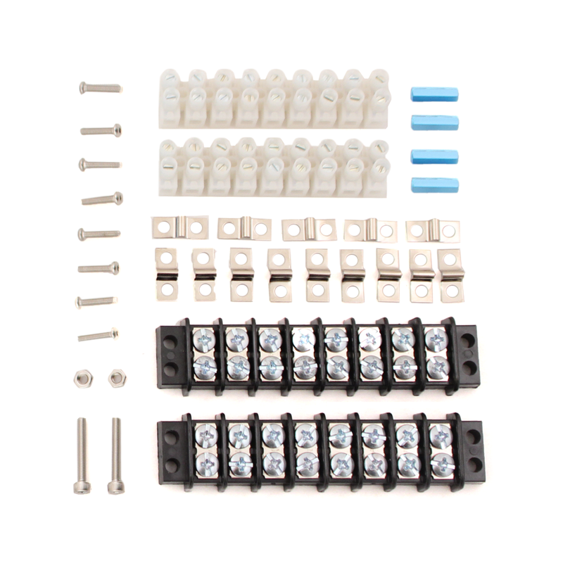 Electronics Tray Terminal Blocks and Hardware