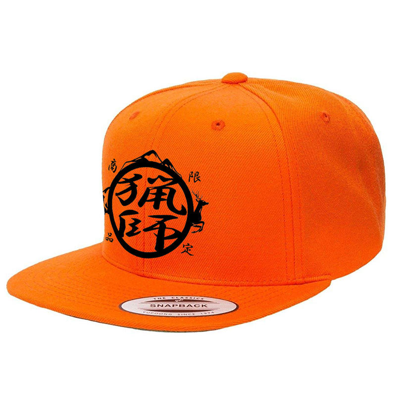 【予約限定】猟師キャップ(オレンジ)