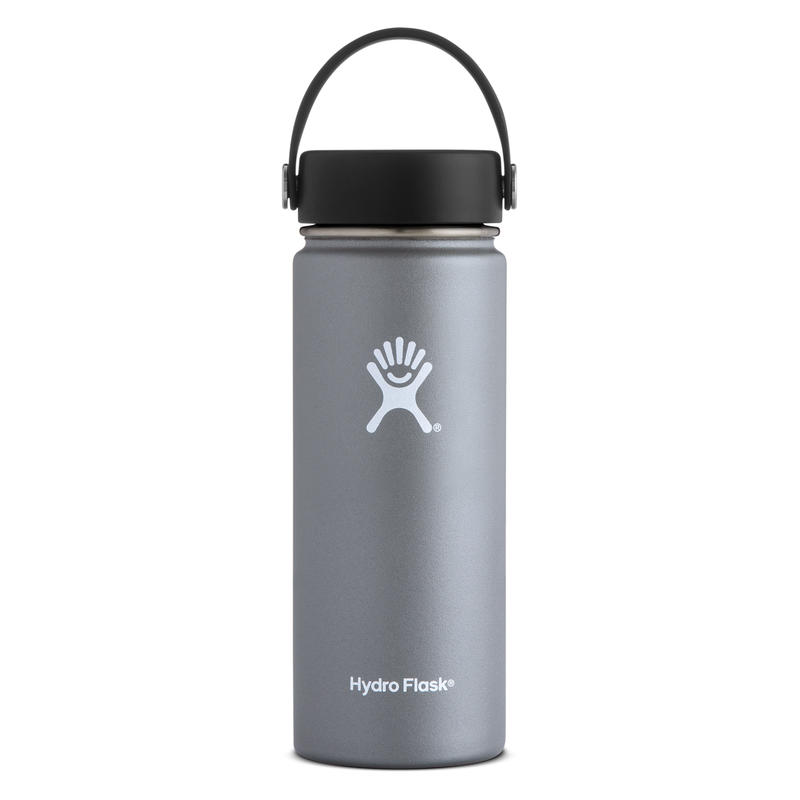 Hydro Flask/18 oz wide mouth(graphite)