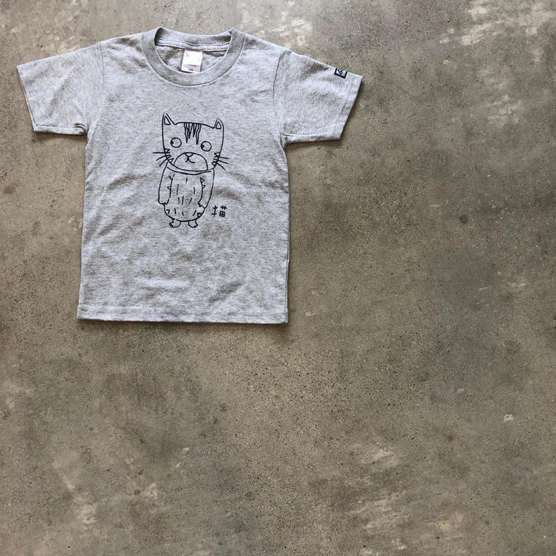 【kid's】T-shirt(gray)