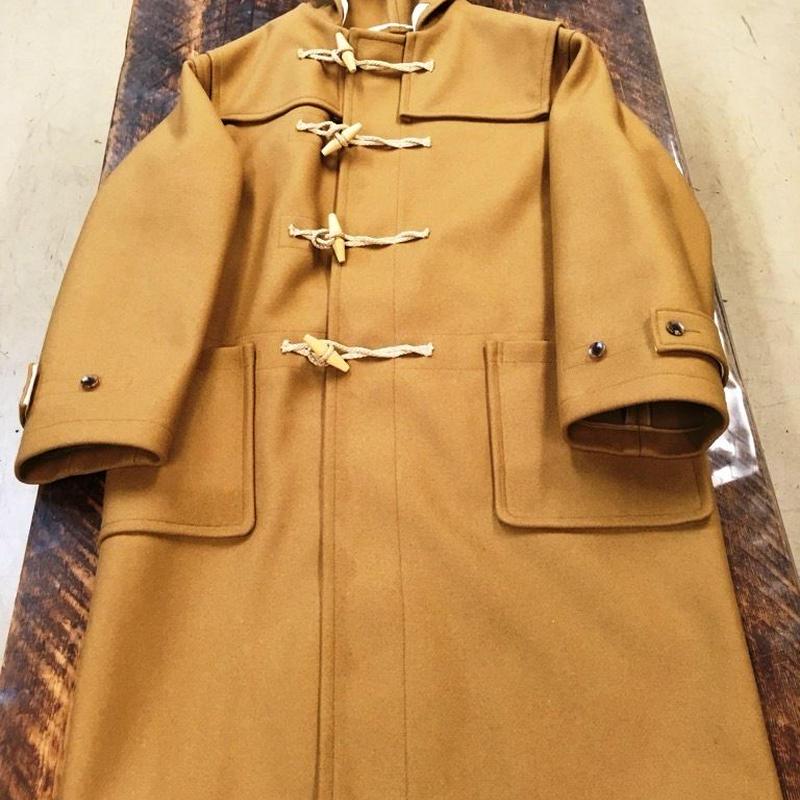 UNION WORKS × Soundman  /  Royal Navy Type Duffle Coat  / Camel