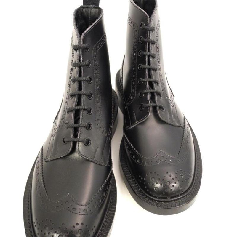 Tricker's × UW / Country Brogue Boots / Black