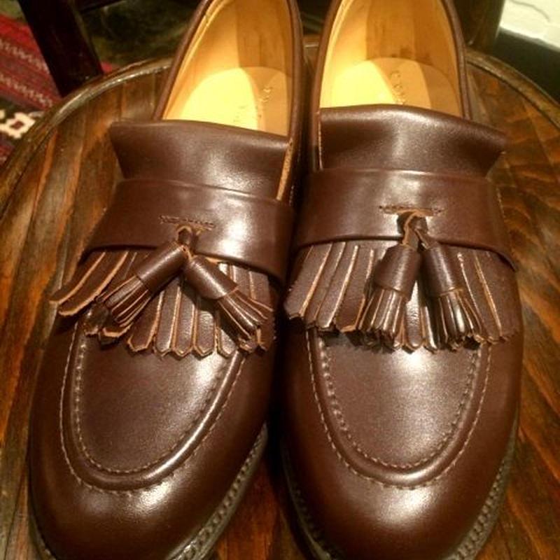 UK Original QuiltTussel Slip On Shoes Size 7half