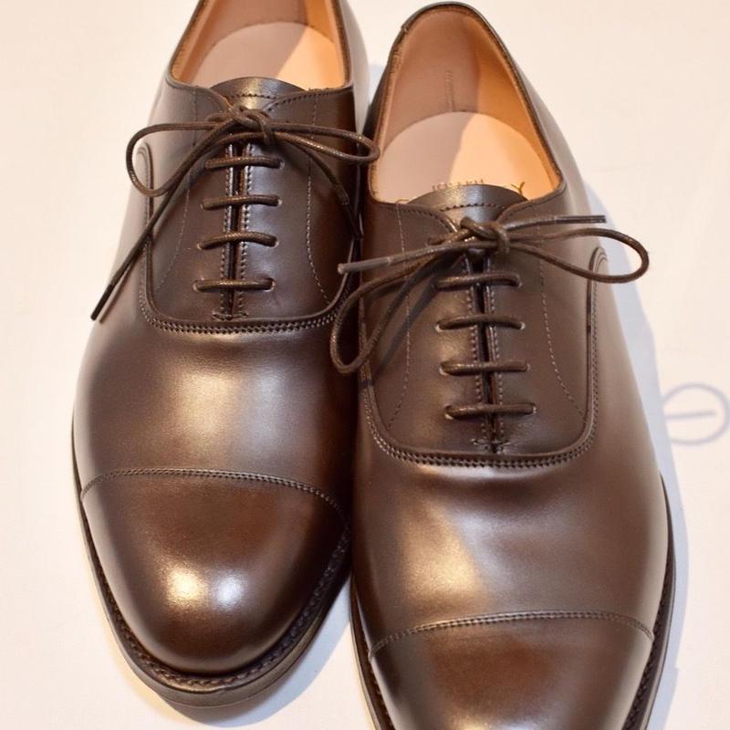 Joseph Cheaney  / DINGLEY /  Cap Toe Shoes / Mocha Burnish