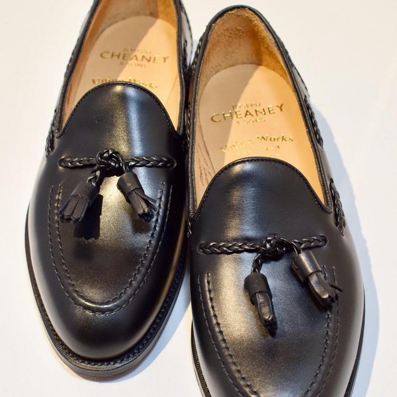 Joseph Cheaney  / HUGH /  Tassel Slip On Shoes / Black