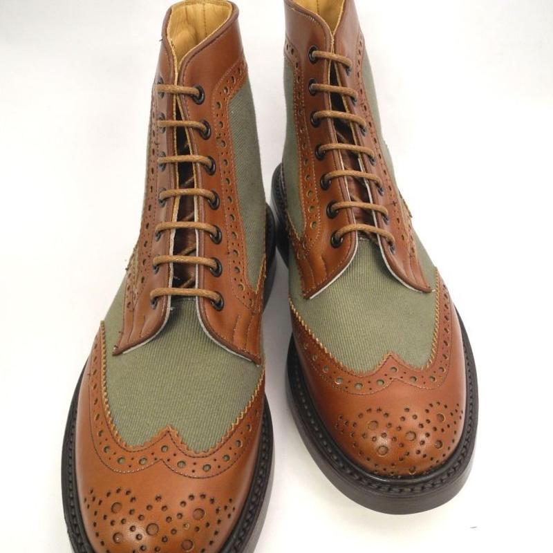 Tricker's × UW / Country Brogue Boots / Combi