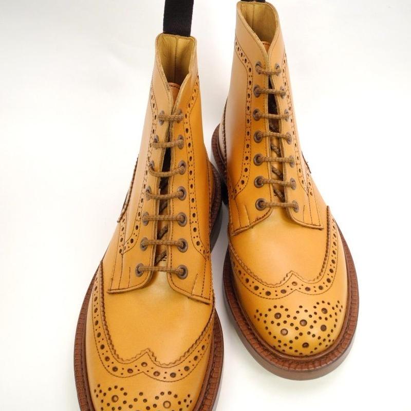 Tricker's × UW / Country Brogue Boots / Acorn