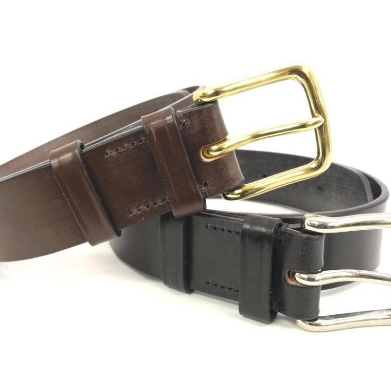 Martin Faizey × UW / Saddle Leather Belt / 1.5 inch