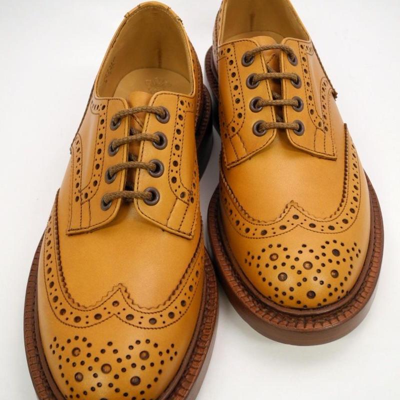 Tricker's × UW / Country Brogue Shoes / Acorn