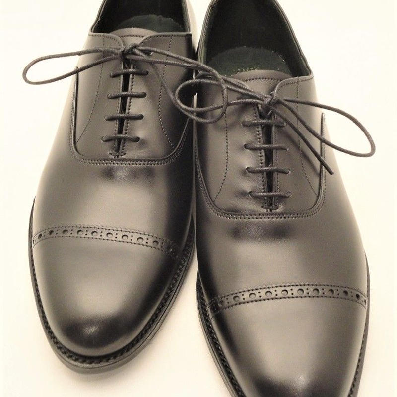Joseph Cheaney  / WILBARSTON /  Punched Cap Toe Shoes / Black
