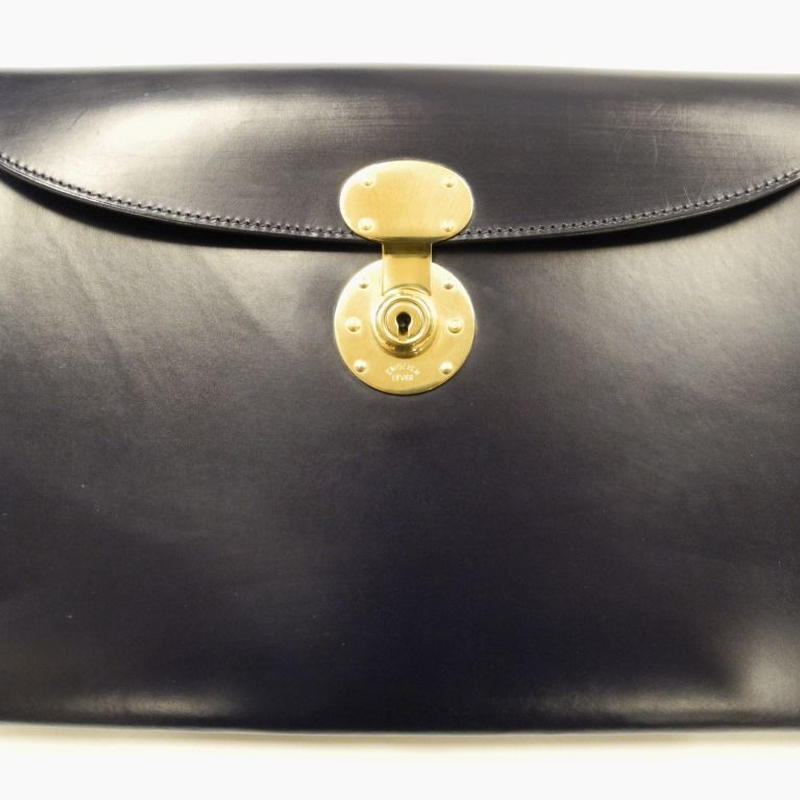 Rutherfords / Folio Case with 806 Lock / Navy