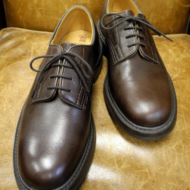 18.72 Rejected Tricker's / Brown / Plain Toe Shoes / Dainite W Sole