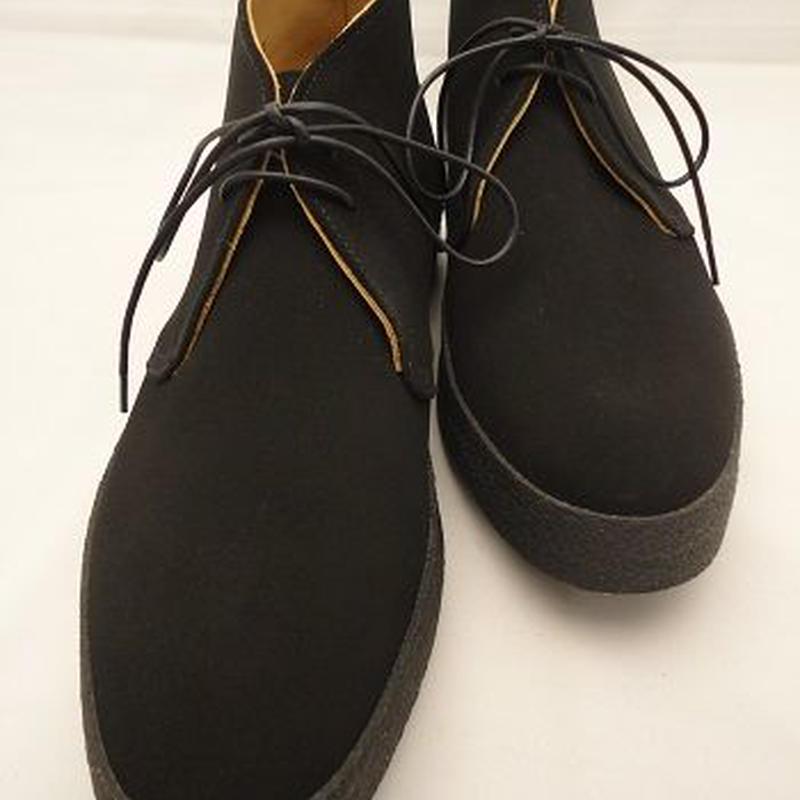 Sanders × UW / Mud Guard Chukka Boots / Black