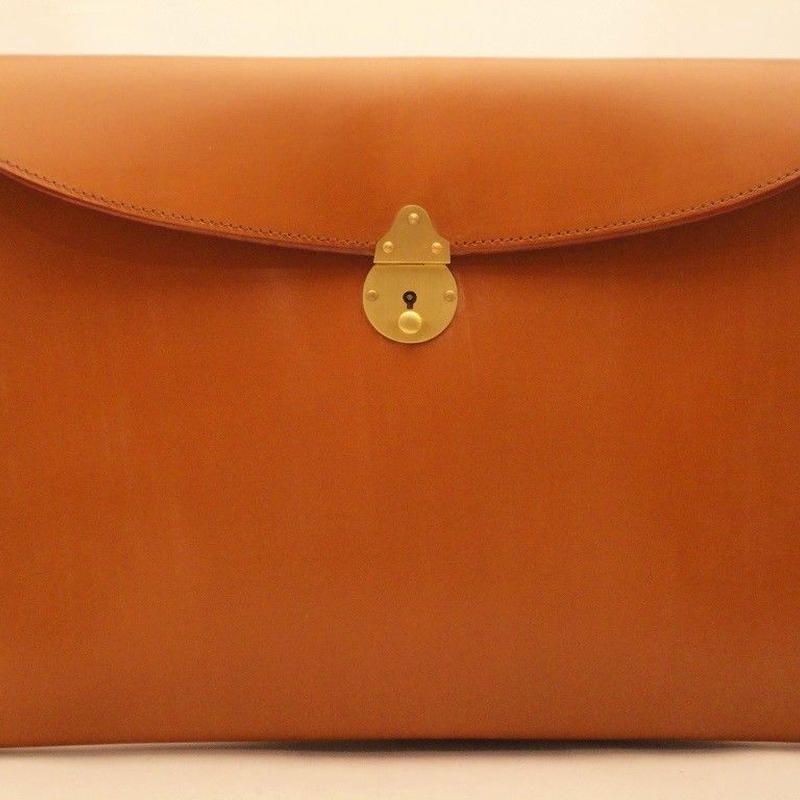 Rutherfords / Folio Case with 808 Lock / Ginger Nut