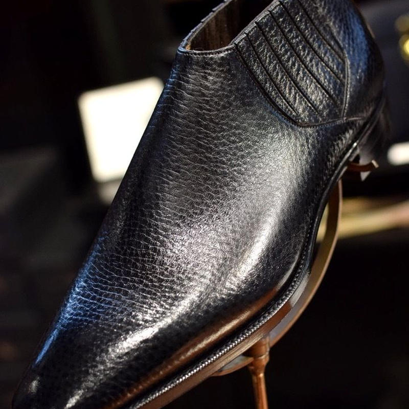 GAZIANO & GIRLING / Montand / Last TG73 / Black English Grain