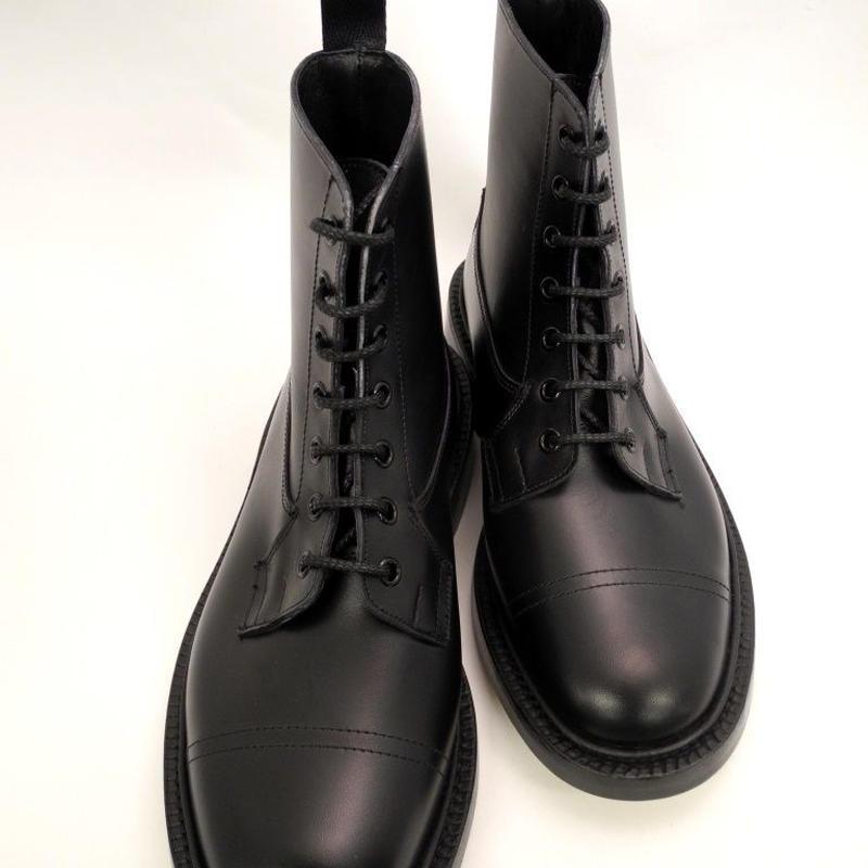 Tricker's × UW / Imitation Cap Country Boots / Black