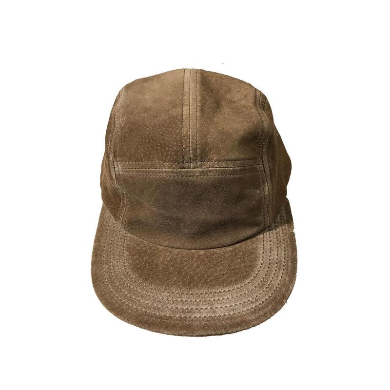 Hender Scheme - water proof pig jet cap khaki brown