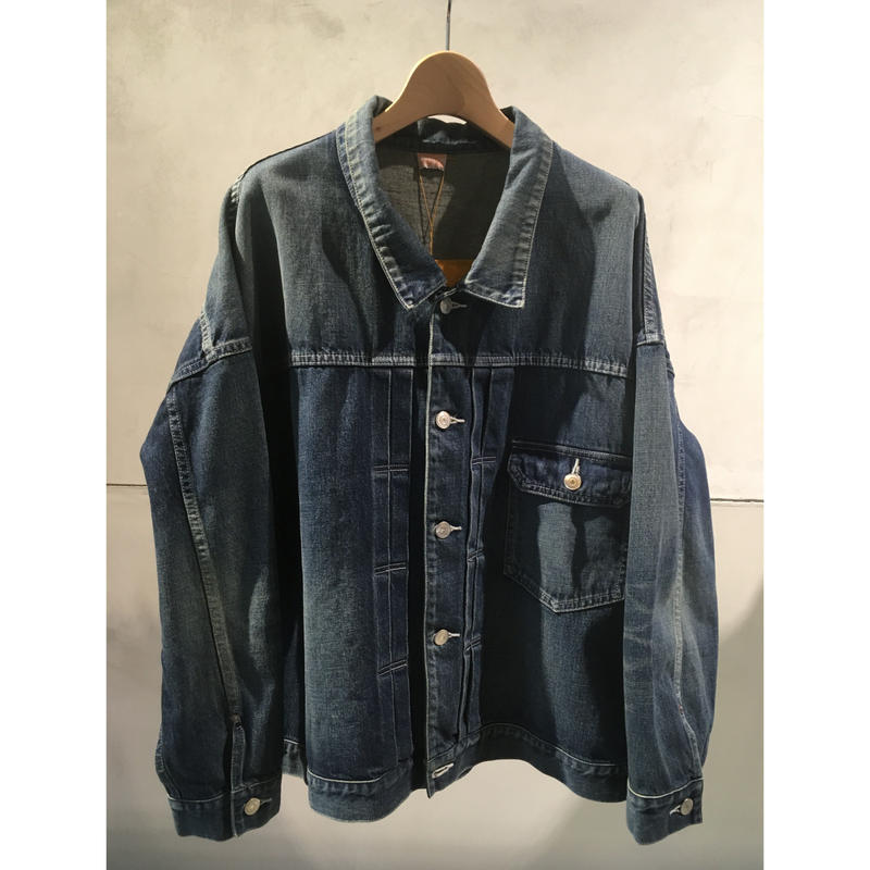 11.5OZ ONE POCKET DENIM JACKET