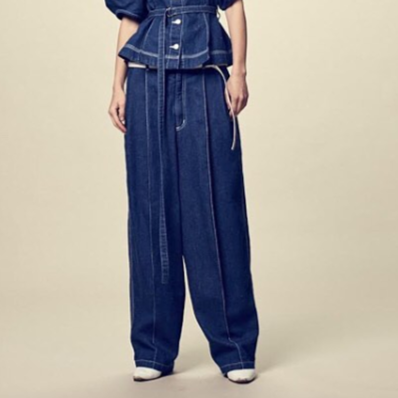 Rito Highwaisted Denim Pants