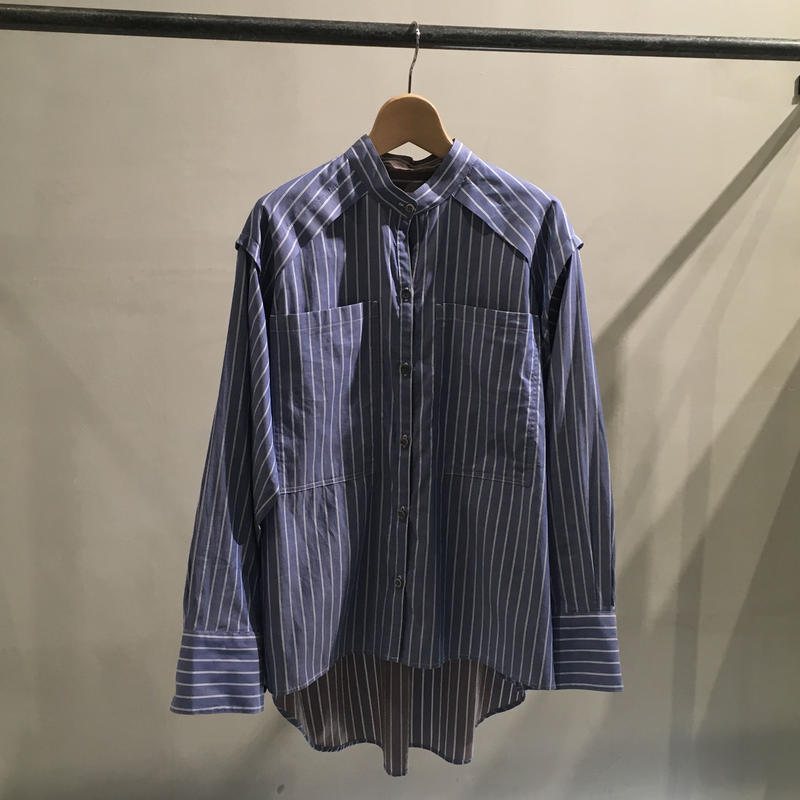 Rito Reversible Stripe shirt