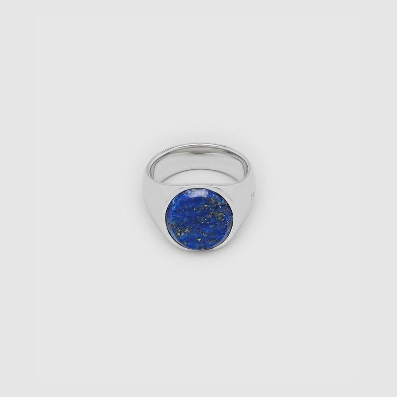 TOM WOOD Oval Blue Lapis サイズ54(14号)