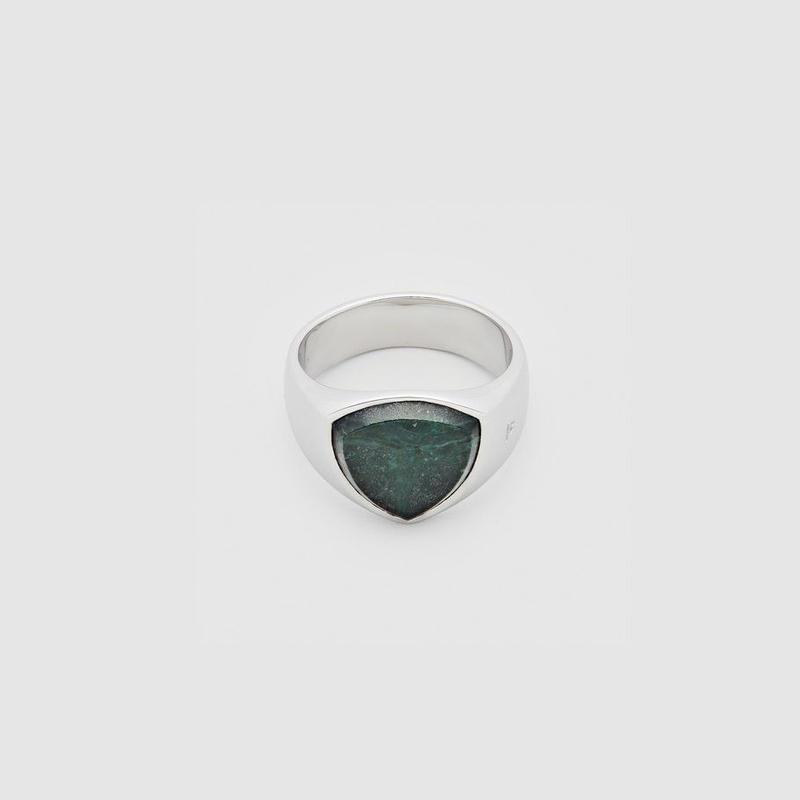 TOM WOOD Shield Green Marble