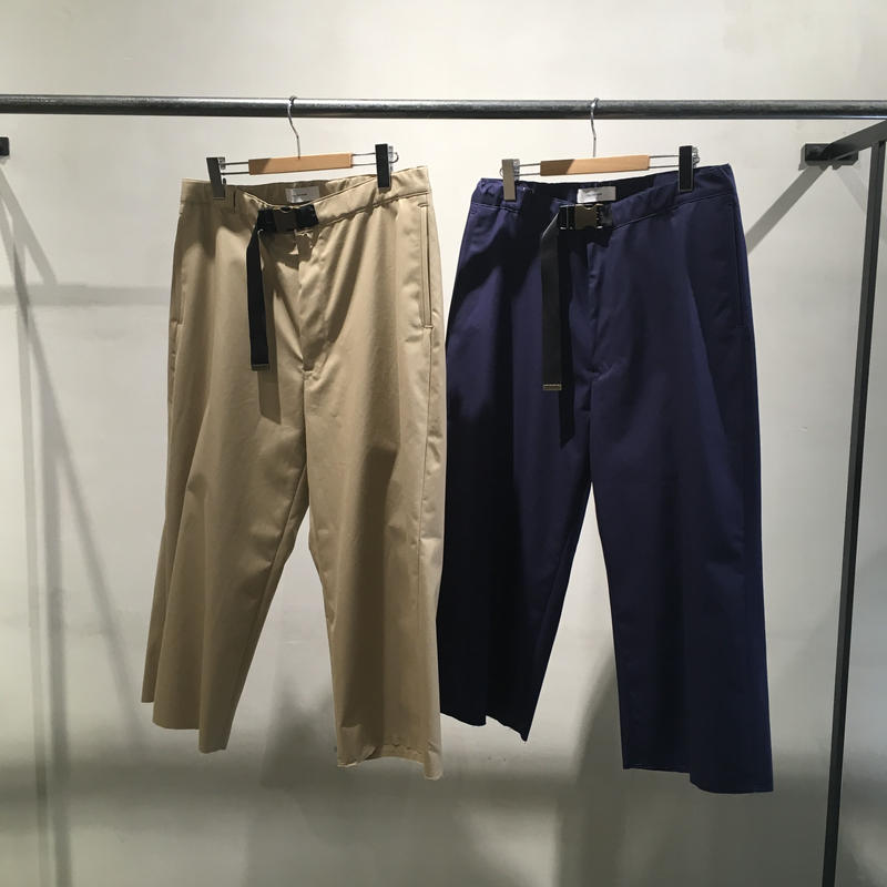 FACETASM BMX CUT OFF CHINO PANTS