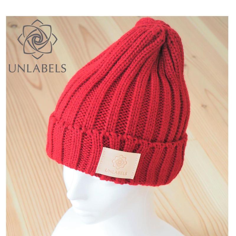 RED KNIT CAP  (MEN'S&LADIE'S)