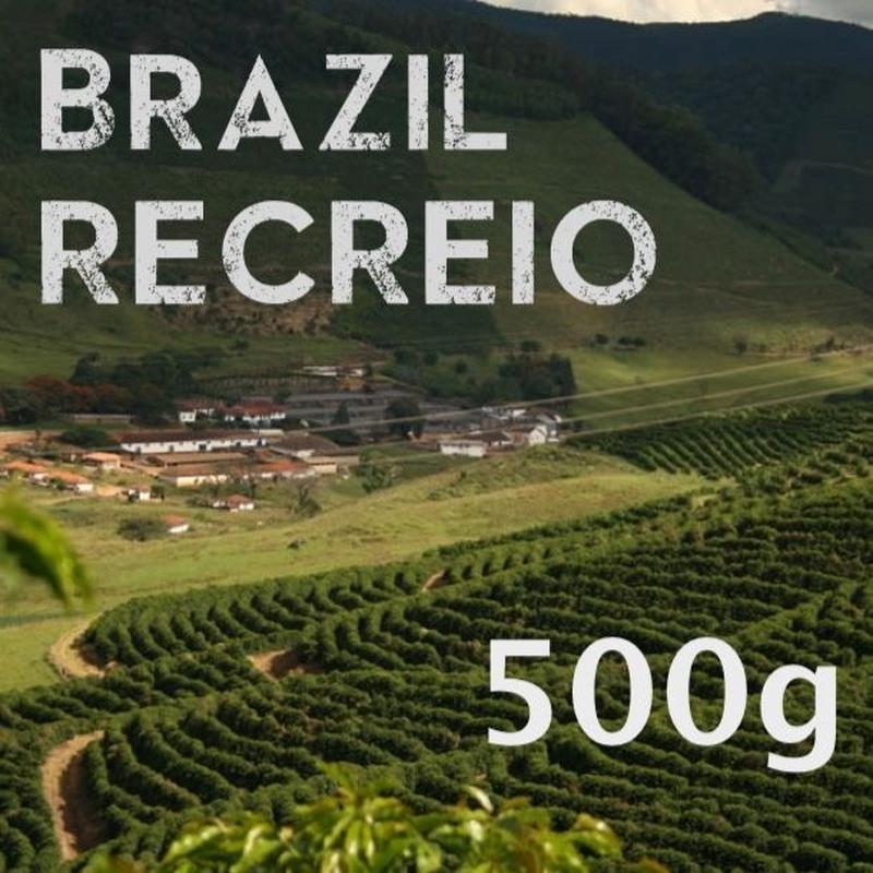 【SPECIALTY COFFEE】500g Brazil Recreio 1.100-1,280m Pulped Natural / ブラジル ヘクレイオ パルプトナチュラル