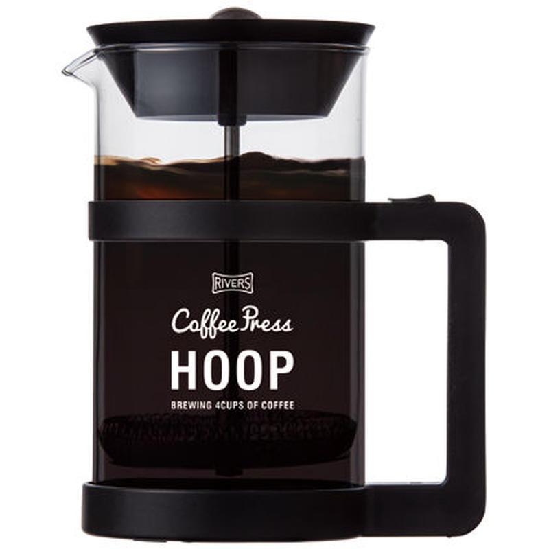 RIVERS COFFEE PRESS HOOP(1-4cups)BLACK / リバーズ コーヒープレス フープ(1-4杯用)ブラック