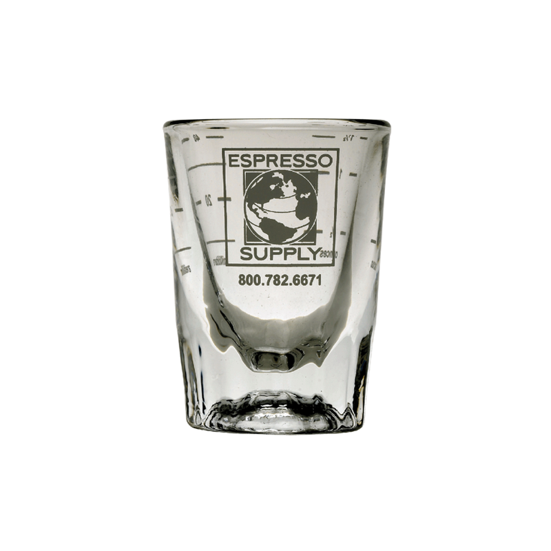 HEAVY DUTY SHOT GLASS 2oz(with ml/oz Lines)