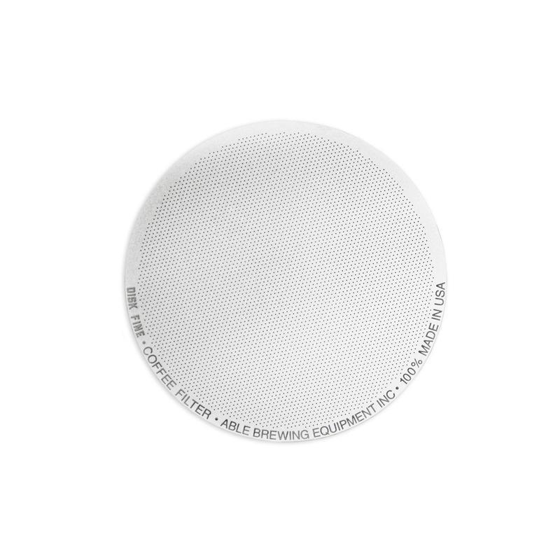 ABLE DISK COFFEE FILTER(FINE)/ エイブル ディスク 金属製コーヒーフィルター ファイン(エアロプレス用)