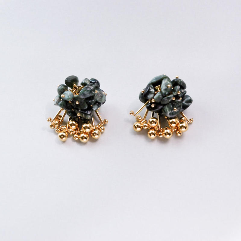 <CIITA>Aria Earrings - SERAPHINITE