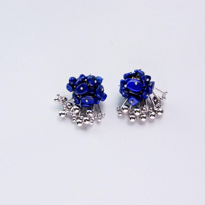 <CIITA>Aria Earrings - LAPIS LAZULI